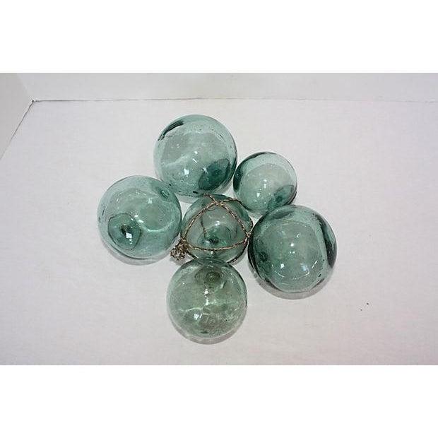 Vintage Japanese Glass Fishing Floats - Set of 6 - Image 4 of 4