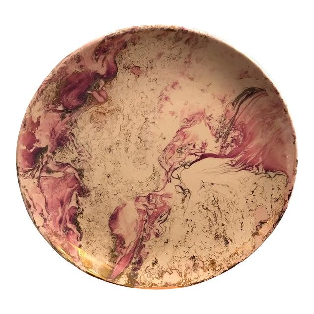 Midcentury Sasha Brastoff Ceramic Plate - Image 1 of 7