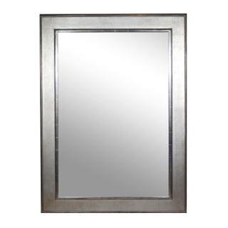 Large Silver Gilt Mirror
