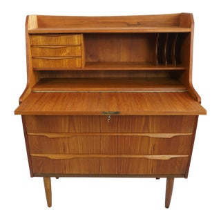 Danish Vintage Secretary Desk / Dresser