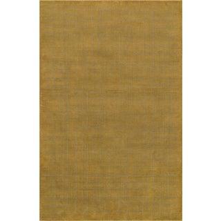 """Modern Hand-Loomed Wool Area Rug - 5' 2"""" X 8' 0"""""""