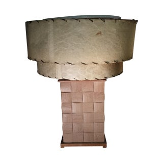 Paul Laszlo Brown Saltman Table Lamp