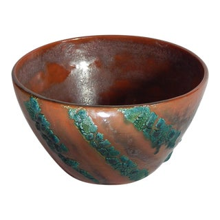 Hand Thrown Earthenware Bowl #23 by Andrew Wilder