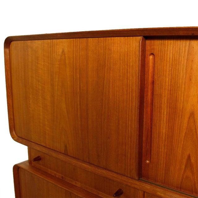 Rare Danish Modern Teak Highboard / Bar Cabinet - Image 5 of 9