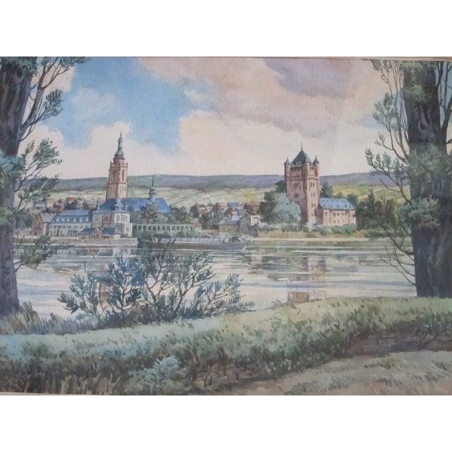 Zimmermann Vintage German Landscape Print - Image 4 of 11