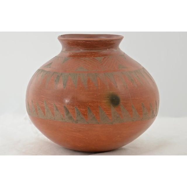 Southwestern Redware Pottery Urn - Image 3 of 7