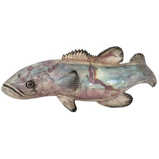 Hand-Painted Italian Fish
