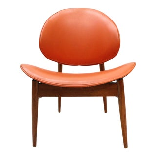 Vintage Seymour James Wiener Kodawood Clam Shell Chair