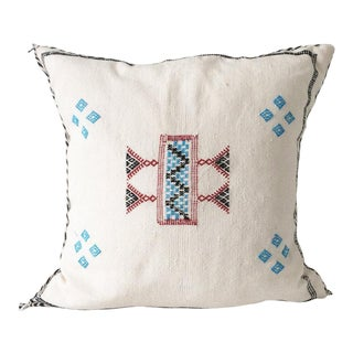 White Sabra Pillow