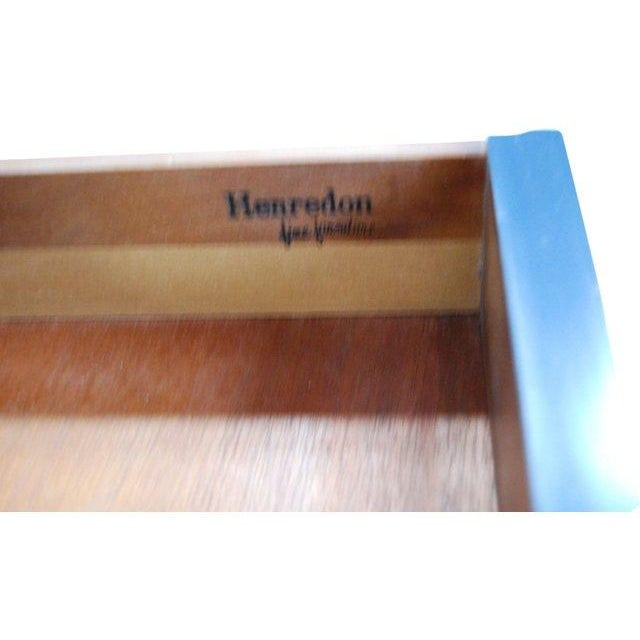 Henredon Campaign-Style Side Table - Image 6 of 6