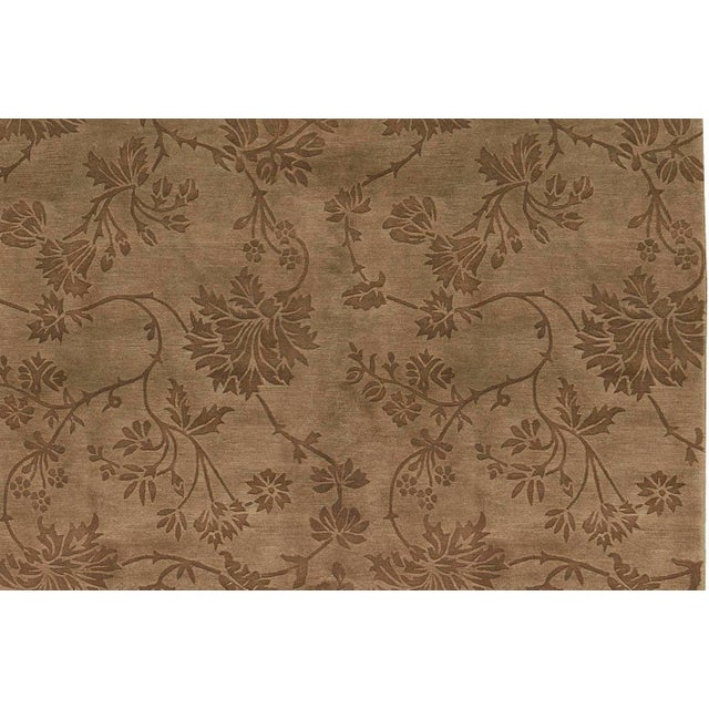 "Contemporary Hand Woven Rug - 6'2"" x 9' - Image 2 of 3"