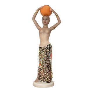 C.I.A. Manna ceramic woman figurine