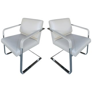 De Sede of Switzerland Ds2430 Chairs - a Pair