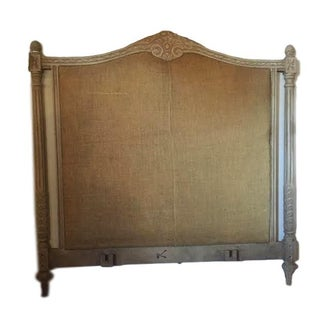 Painted Gustavian Style Queen Size Bed