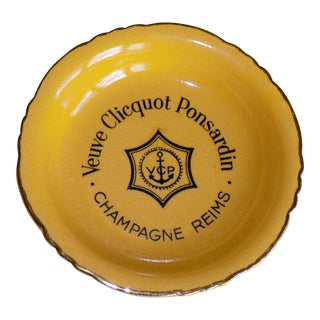 Vintage French Veuve Clicquot Plate