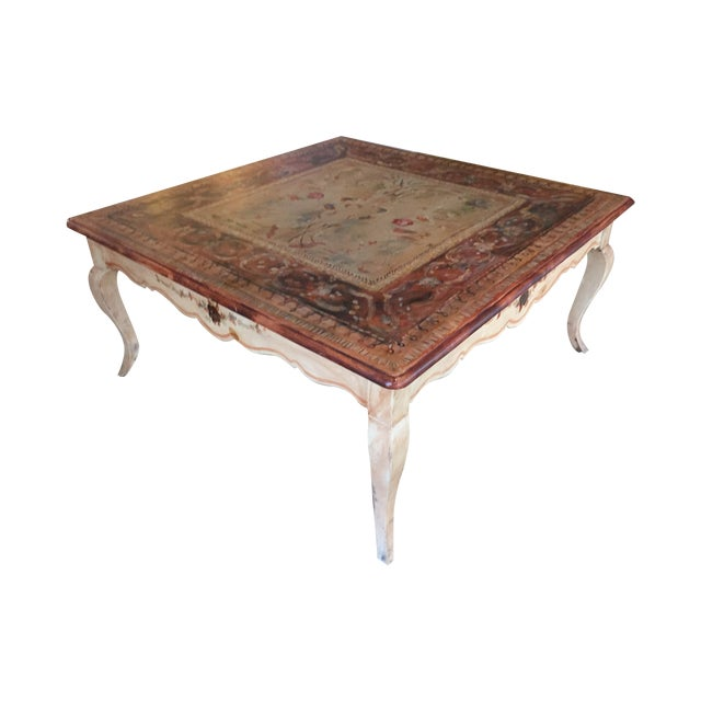 Habersham Hand Painted Coffee Table Chairish