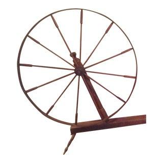 Antique Primitive Spinning Wheel