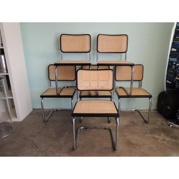 Marcel Breuer Reproduction Cesca Chairs - Set of 6 - Image 2 of 6