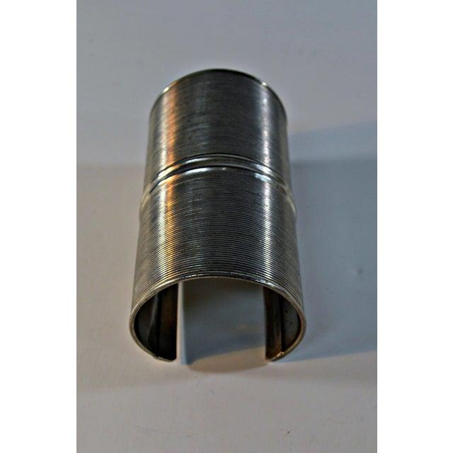 African Metal Tribal Bracelet - Image 5 of 6