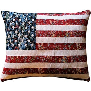 Pillow Decor - United States Flag 15x19 Pillow