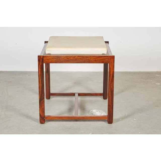 Danish Reversible End Table / Ottoman - Image 6 of 8