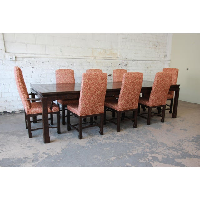 Mario Buatta for John Widdicomb Chinoiserie Dining Chairs - Set of ...