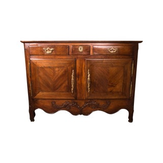 19th C. French Chestnut Buffet