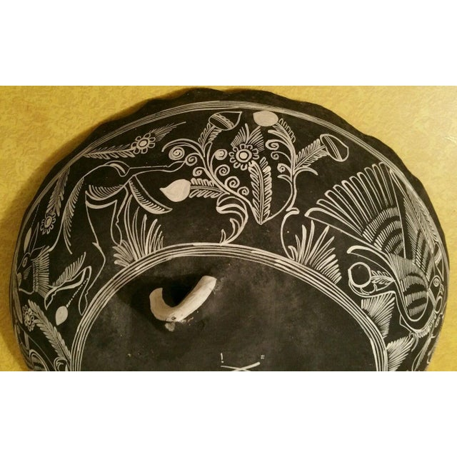 Mexican Handpainted Bowl With Birds, X. Guerrero - Image 5 of 8