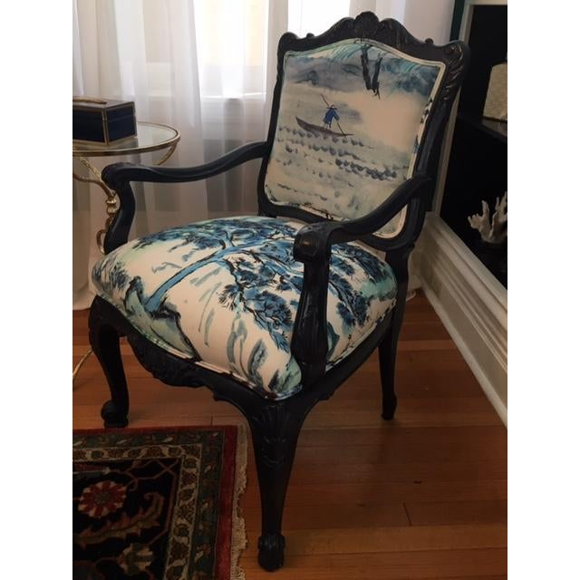 French Louis XV Style Chair - Image 2 of 3