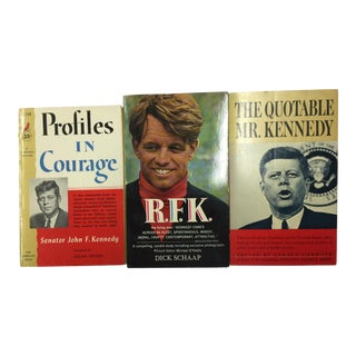 Set of Vintage Kennedy Brothers Paperbacks - 3