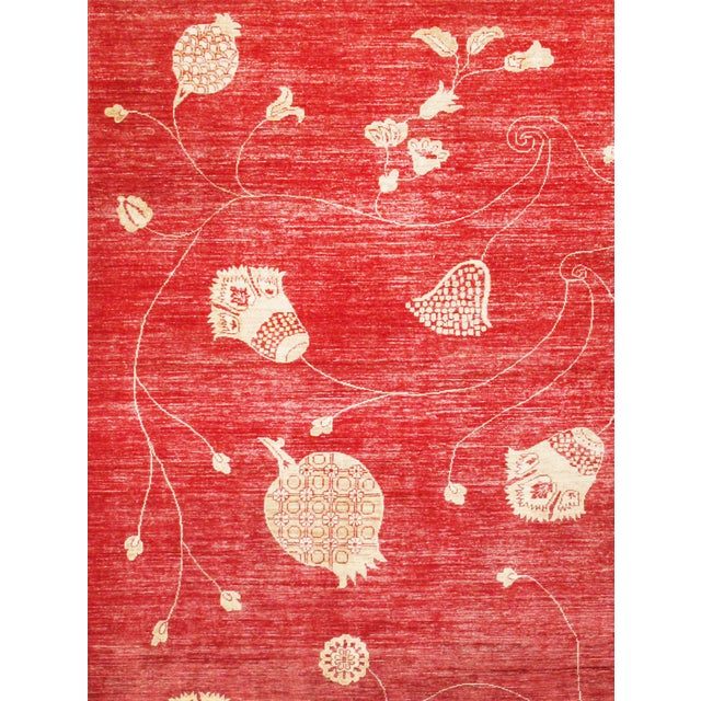 "Pasargad Modern Lamb's Wool Rug - 9'1"" x 11'5"" - Image 2 of 2"