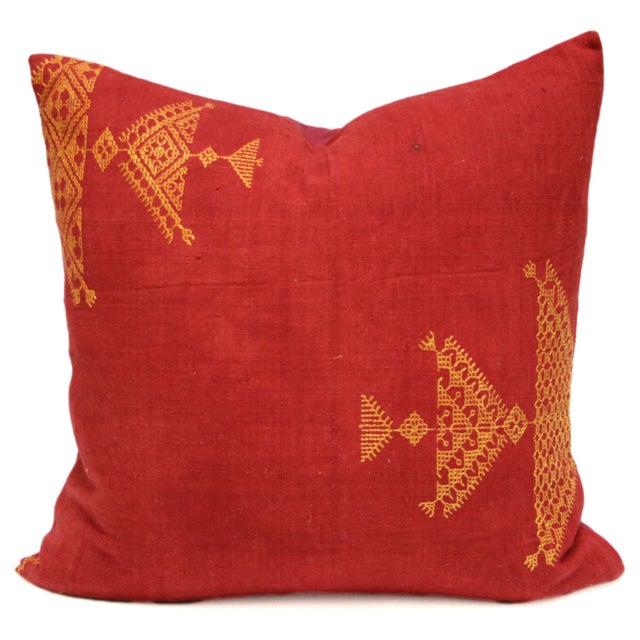 Noble Bagh Phulkari Pillow - Image 1 of 3