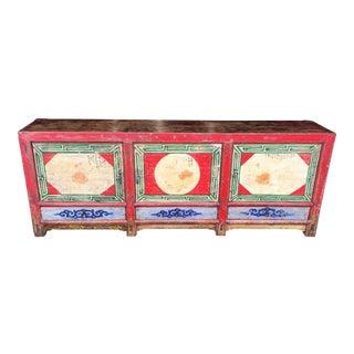 Tibetan Console Cabinet