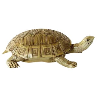 Carved Bone Turtle