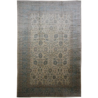 "Aara Rugs Inc. Hand Knotted Oushak Rug - 16'9"" X 12'11"""