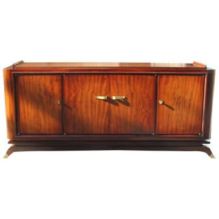 French Art Deco Mahogany Sideboard