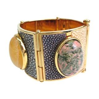 Fendi Gold Plated Metal Bracelet