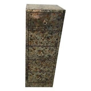 Vintage Five Drawer Storage Cabinet