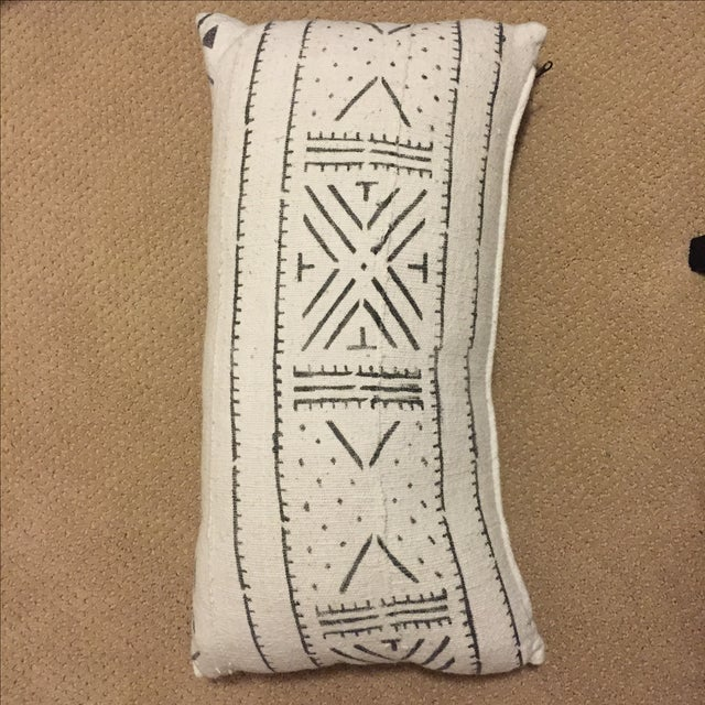 African Mudcloth Boho Chic Pillow - Image 4 of 5
