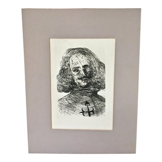 Original Salvador Dali Etching