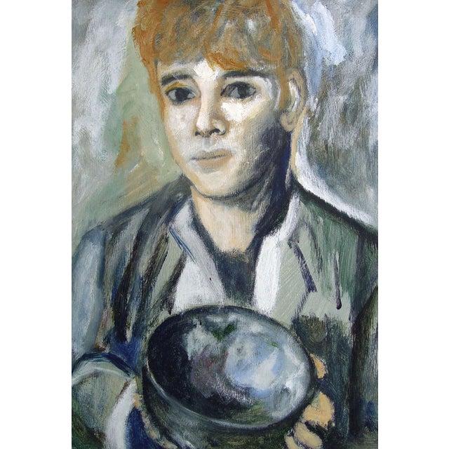 Mid-Century Modern Portrait - Image 1 of 2