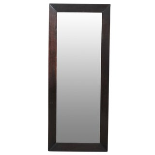 Tall Mahogany Mirror