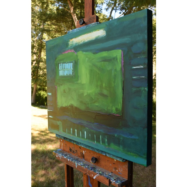 "Stephen Remick ""Garden Party, Waning"" Abstract Painting - Image 6 of 8"