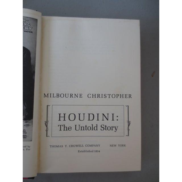 Image of Houdini: The Untold Story, Book