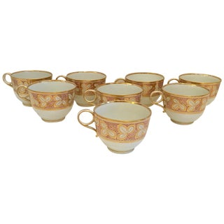 Early 19th Century Barr & Barr & Flight Worcester Tea Set - Service for 8