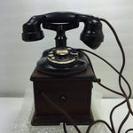 Image of Antique 1920s Western Electric A1 Rotary Dial Telephome