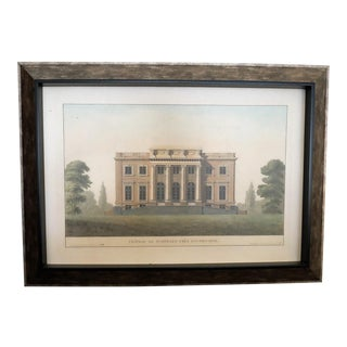 Architectural Rendering With Resin Frame