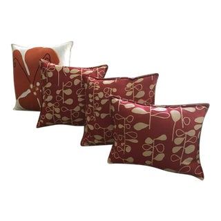 Hable Construction Decorator Throw Pillows - Set of 4