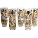 Image of Autumn Leaf Etched Glasses - Set of 6