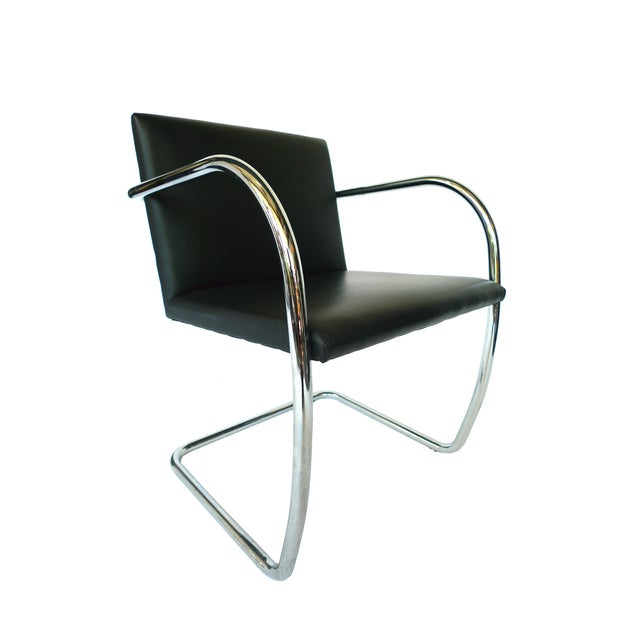 Ludwig Mies Van Der Rohe Brno Chairs - A Pair - Image 4 of 8